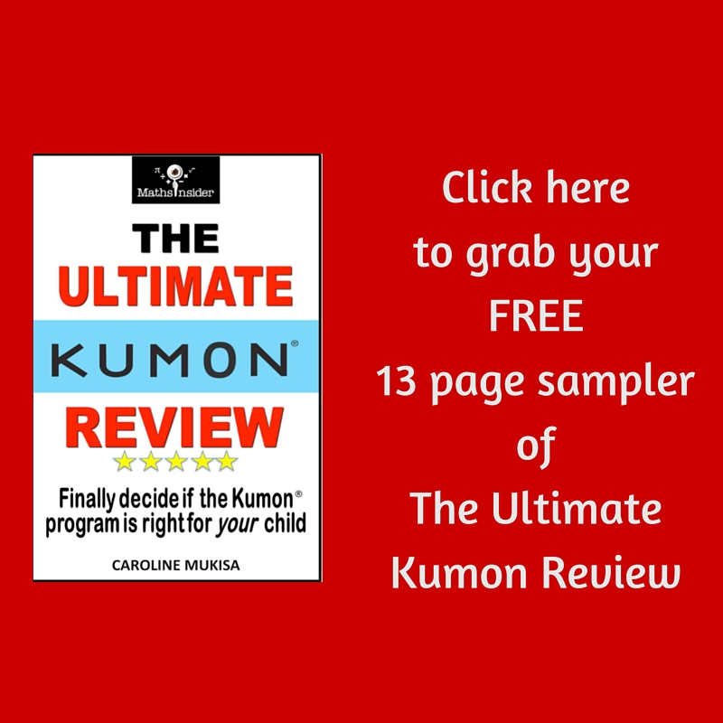 Click here to grab your FREE 13 page sampler of The Ultimate Kumon Review