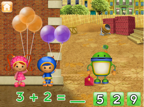 umizoomi iPad math