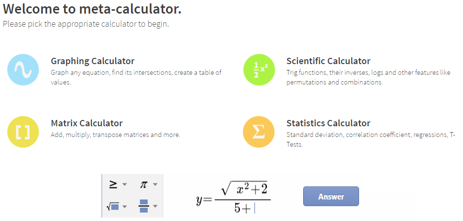 math homework calculator