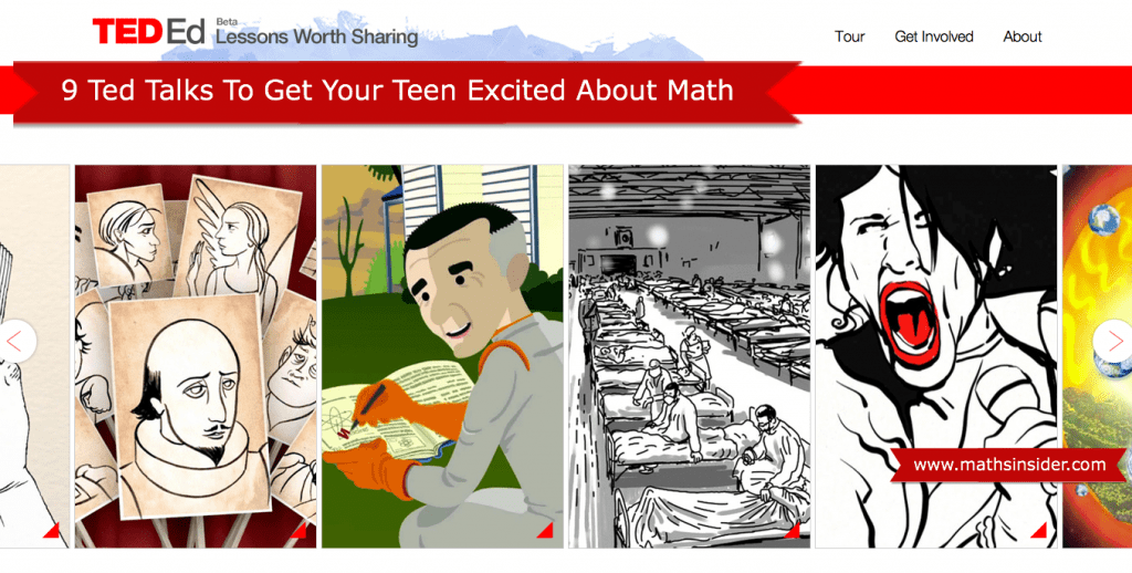 9 Ted Talks to Get Your Teen Excited about Math