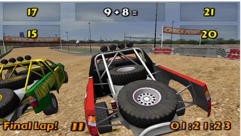 3D math racing