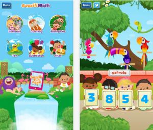 Gazilli math app