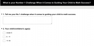 Challenge Survey