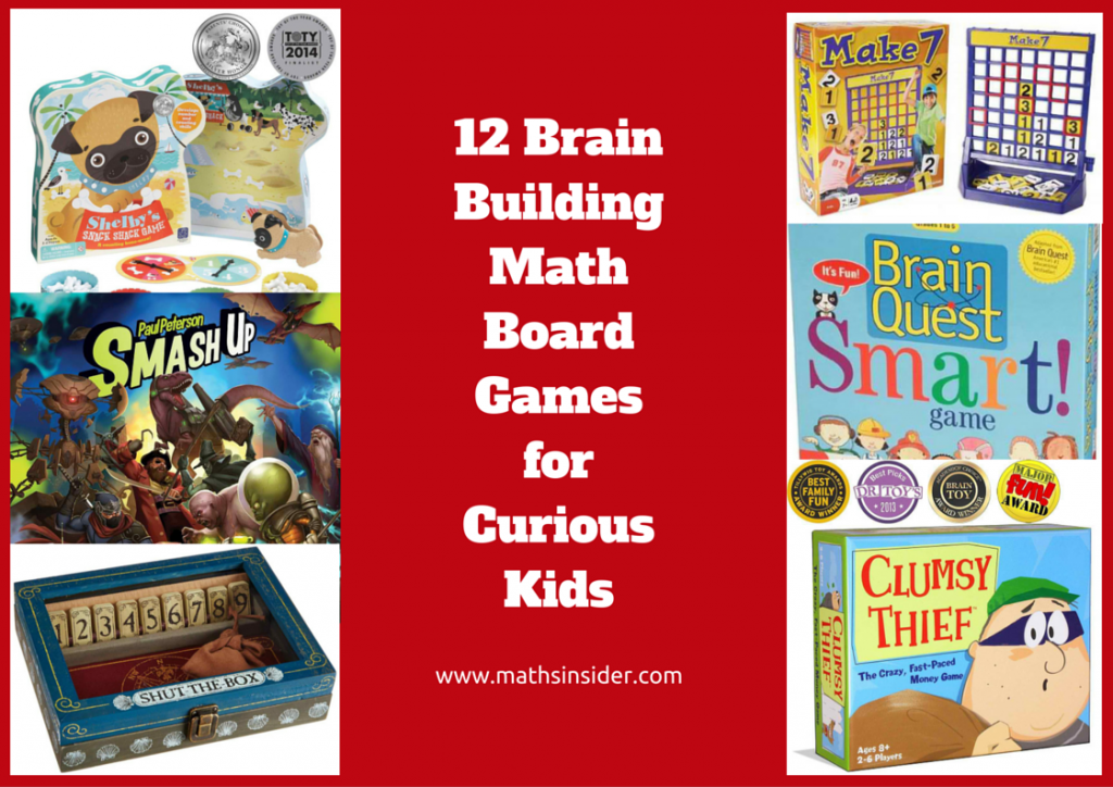 12 Brain Building Math Board Games for Curious Kids