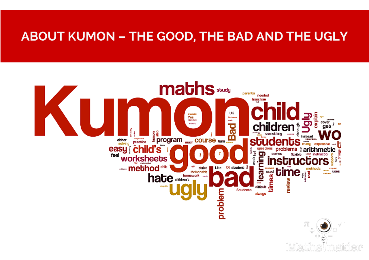 Workbooks understatement worksheets : About Kumon - The Good, The Bad and The Ugly